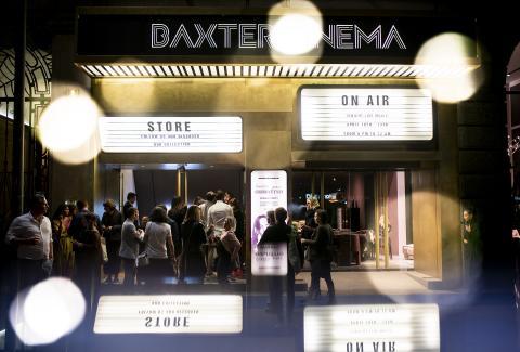 BAXTER CINEMA MUSIC LIVE CLUB - FUORISALONE 2019 PRIVATE PARTY