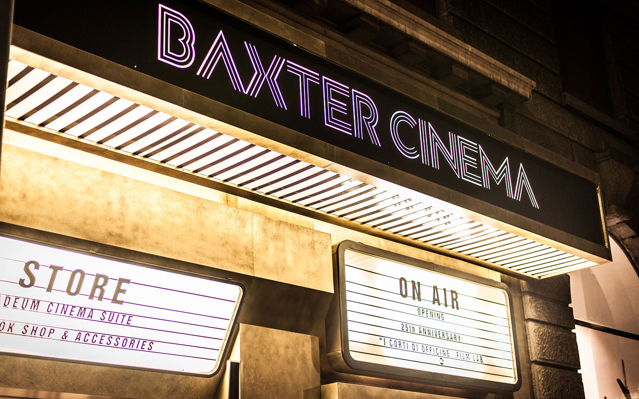BAXTER CINEMA'S GRAND OPENING & 25 TH ANNIVERSARY'S EVENT